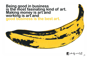 good business is the best art